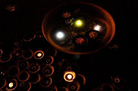 lumières de fin