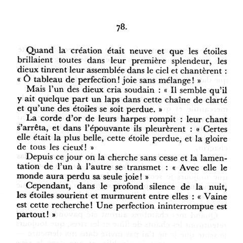 Tagore l'Offrande lyrique
