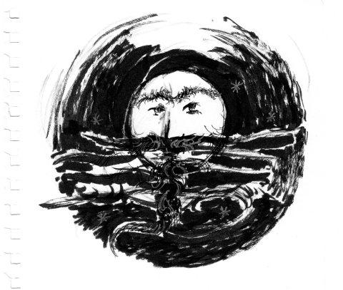 Lune sitanienne par Kajan(c)