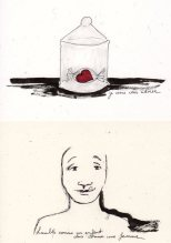 dessin rencontre au coeur tendre par Kajan