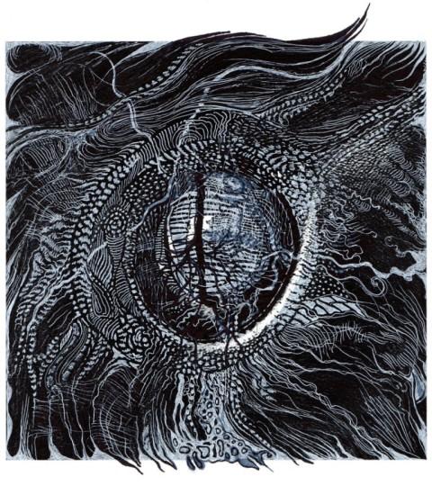"dessin reflet de ""la Chanson de Personne""de Perrin Langda"