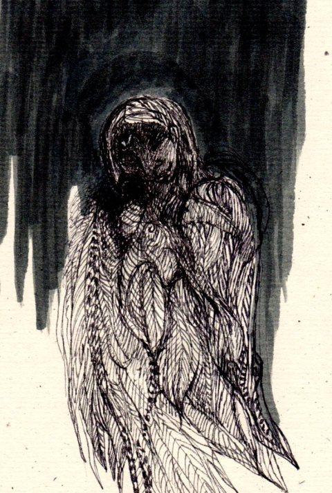 moiseau de nuit par Kajan