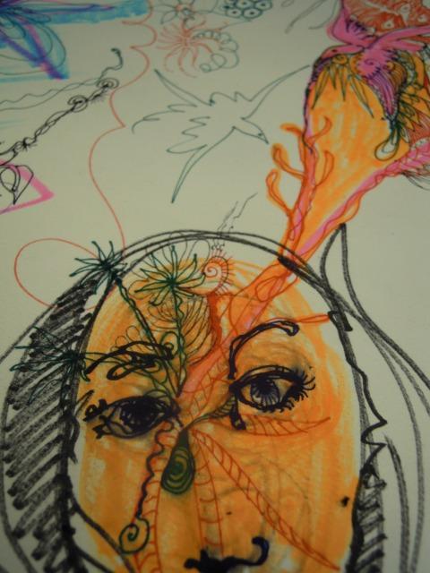 elle pense par Kajan (c)