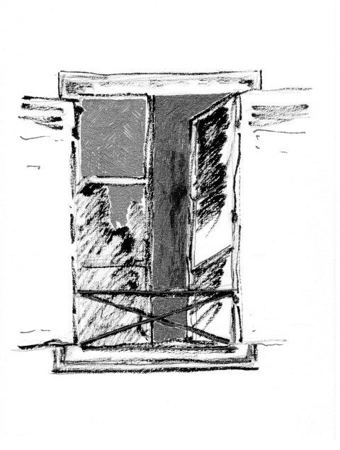Mon Repos à la fenêtre par Kajan(c)