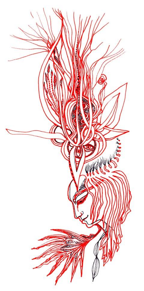 Chamane rouge par Kajan(c)