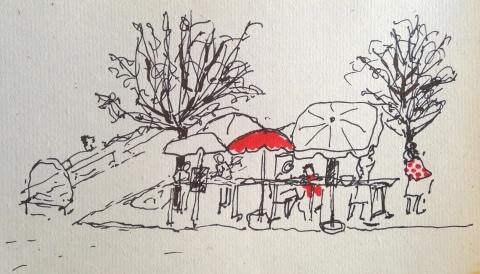 la buvette parasol par Kajan(c)