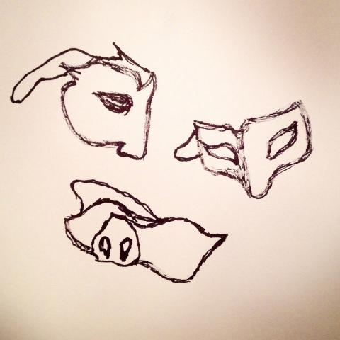 Bas les masques par Kajan(c)
