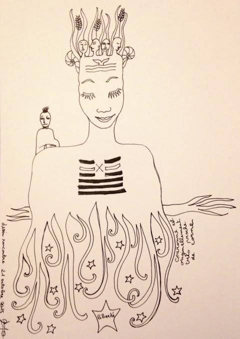 dessin rencontre 21.10.2015 par Kajan(c)