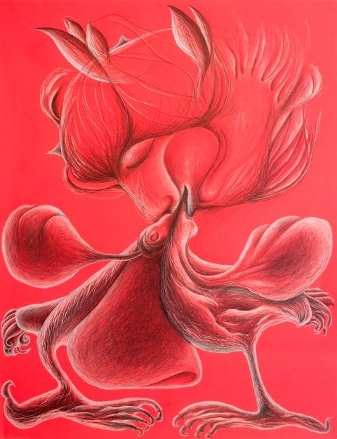 rouge à deux par Kajan(c) et Sautereau(c)