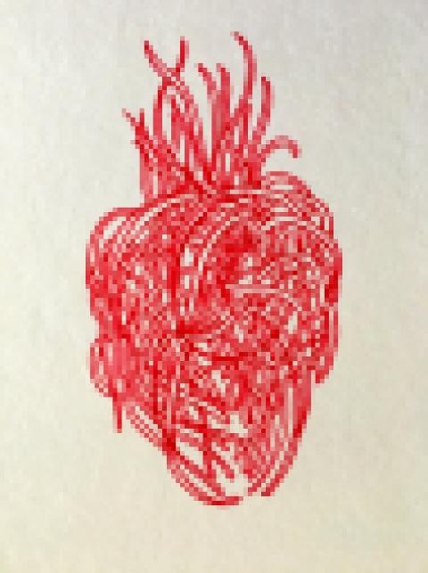 coeur de pique-celle clair par Kajan(c)