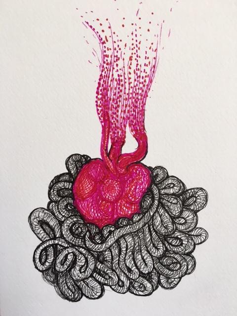le coeur au ventre par Kajan(c)