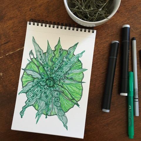une fleur mystique par Kajan(c)